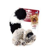 Енот с пищалкой игрушка для собак