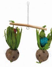 Качели из кокоса  для птиц