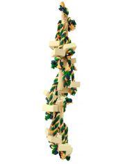 Гирлянда  деревянная игрушка для средних попугаев