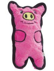 Игрушка для собак Invinc Mini свинка без наполнителя с пищалками