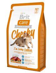 Cat Cheeky Outdoor корм для взрослых активных кошек всех пород, оленина и рис