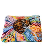 """Матрас """"сны"""" рисунок кошка"""