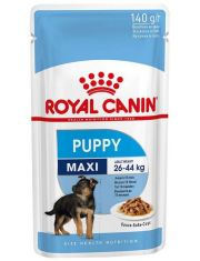 Maxi Puppy влажный корм для щенков крупных пород, кусочки в соусе