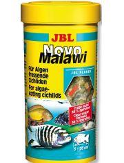 """""""NovoMalawi"""" для растительноядных цихлид из озер Малави и Танганьика, в форме хлопьев"""
