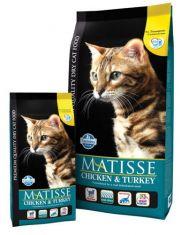 Matisse Adult сухой корм для взрослых кошек, с курицей и индейкой