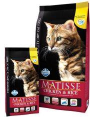 Matisse Adult сухой корм для взрослых кошек, с курицей и рисом