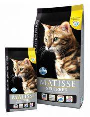 Matisse Cat Neutered  полнорационный и сбалансированный корм для взрослых стерилизованных кошек и кастрированных котов