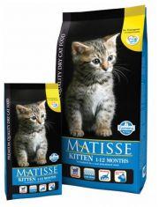 Matisse Kitten 1-12 Months  полнорационный и сбалансированный корм для котят, а также для беременных и кормящих кошек