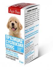 Празицид  плюс  суспензия  для щенков крупных пород