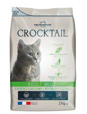 Crocktail Adult  Multi With Poultry & Vegetables полнорационный корм для привередливых кошек,индейка и овощи