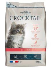 Crocktail Kitten  полнорационный корм для котят, а также кошек в конце беременности и в период кормления