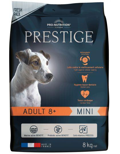 Prestige Adult Mini 8+ полнорационный корм для взрослых собак старше 8 лет, для мелких пород