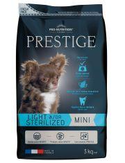Prestige Adult Mini Sterilized  полнорационный корм для собак со склонностью к набору излишнего веса и/или стерилизованных собак, для всех пород