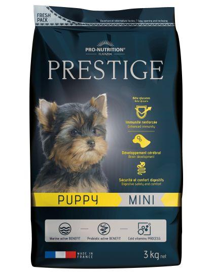 Prestige Puppy Mini  полнорационный корм супер-премиум класса для щенков, беременных и кормящих сук мелких пород