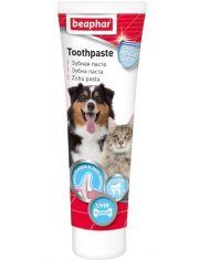 Зубная паста для собак и кошек со вкусом печени + зубная щетка